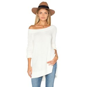 We The Free Long Ivory Thermal Top Small
